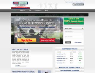 jockbrokers.com screenshot