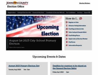 jocoelection.org screenshot