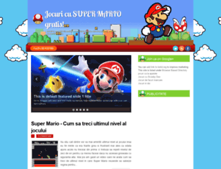 jocuricusupermario.blogspot.ro screenshot