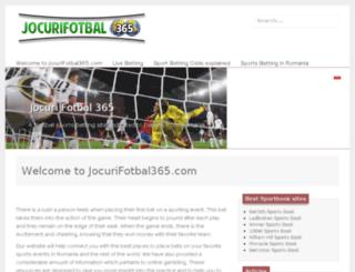 jocurifotbal365.com screenshot