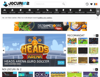 jocuriin2jucatori.ro screenshot