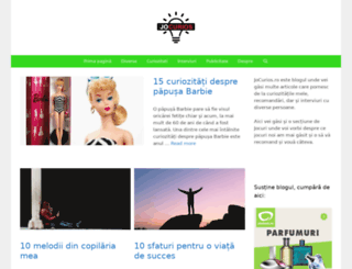 jocurios.ro screenshot