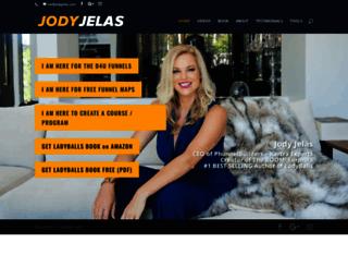 jodyjelas.com screenshot