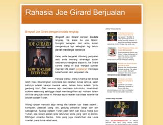joe-girard.blogspot.com screenshot