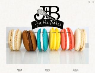 joe-the-baker.com screenshot
