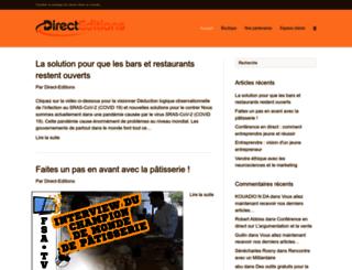 joe777.direct-editions.com screenshot