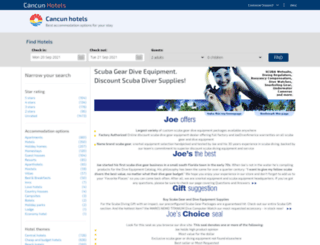 joediveramerica.com screenshot