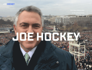 joehockey.com screenshot