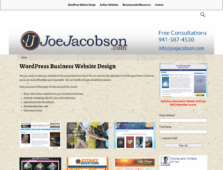 joejacobson.com screenshot