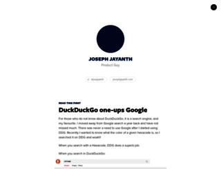 joejayanth.svbtle.com screenshot