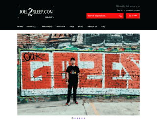 joel2sleep.com screenshot