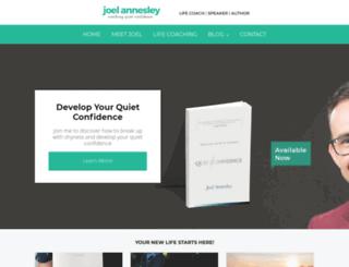 joelannesley.com screenshot