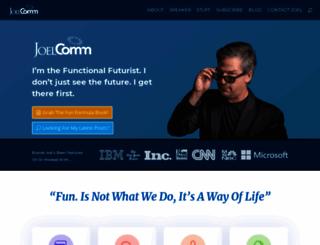 joelcomm.com screenshot
