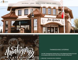 joeleones.com screenshot
