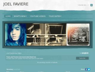 joelfaviere.com screenshot