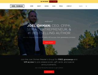 joelohman.com screenshot