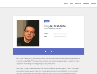 joelosborne.com screenshot