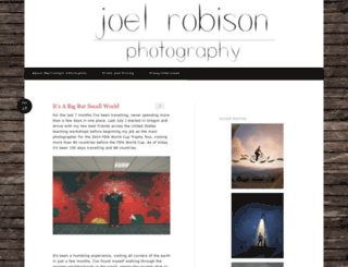 joelrobisonphoto.wordpress.com screenshot