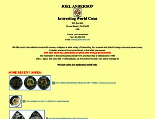 joelscoins.com screenshot