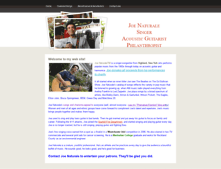 joenaturale.com screenshot