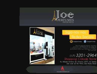 joeperfumes.com.br screenshot