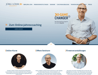 joerg-loehr.com screenshot