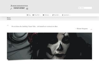joergermeister.de screenshot
