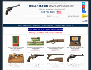 joesalter.com screenshot