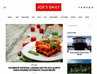 joesdaily.com screenshot