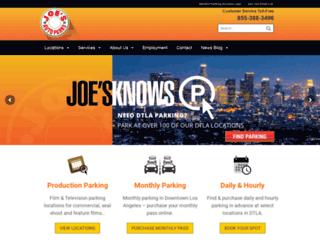 joesplazaparking.com screenshot