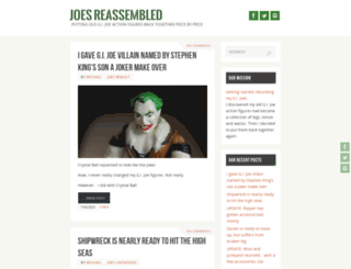 joesreassembled.com screenshot