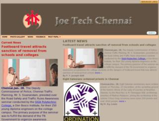 joetechchennai.org screenshot
