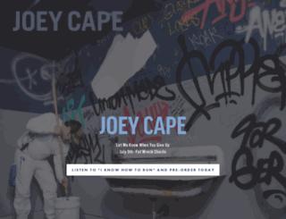 joeycape.com screenshot