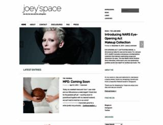 joeychong.com screenshot