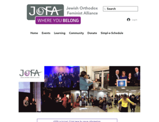 jofa.org screenshot