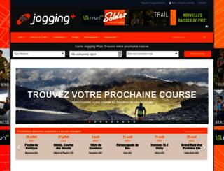 jogging-plus.com screenshot