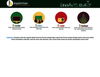 jogjabelajar.org screenshot