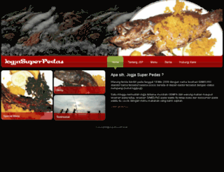 jogjasuperpedas.com screenshot