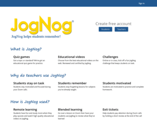 jognog.com screenshot