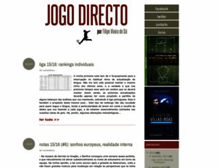 jogodirecto.blogspot.com screenshot
