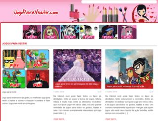 jogoparavestir.com screenshot