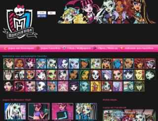 jogosdamonsterhigh.com.br screenshot