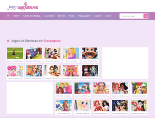 jogosdemeninas.net screenshot