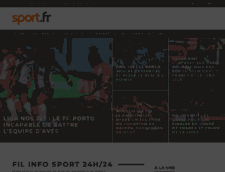 johandejonckheere.sport.fr screenshot