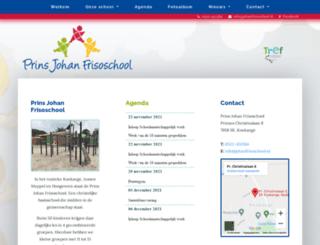 johanfrisoschool.nl screenshot