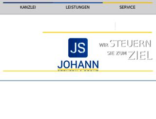 johann-steuerberater.de screenshot