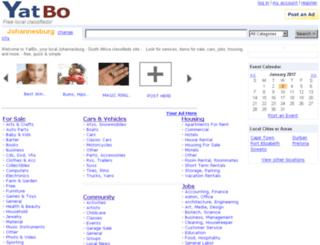 johannesburg.yatbo.com screenshot