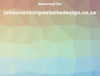 johannesburgwebsitedesign.co.za screenshot