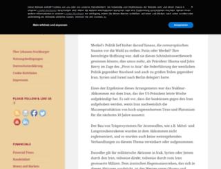 johannesstockburger.com screenshot