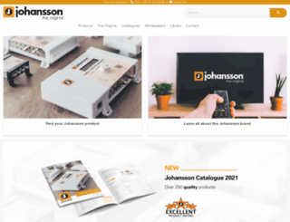 johansson.be screenshot
